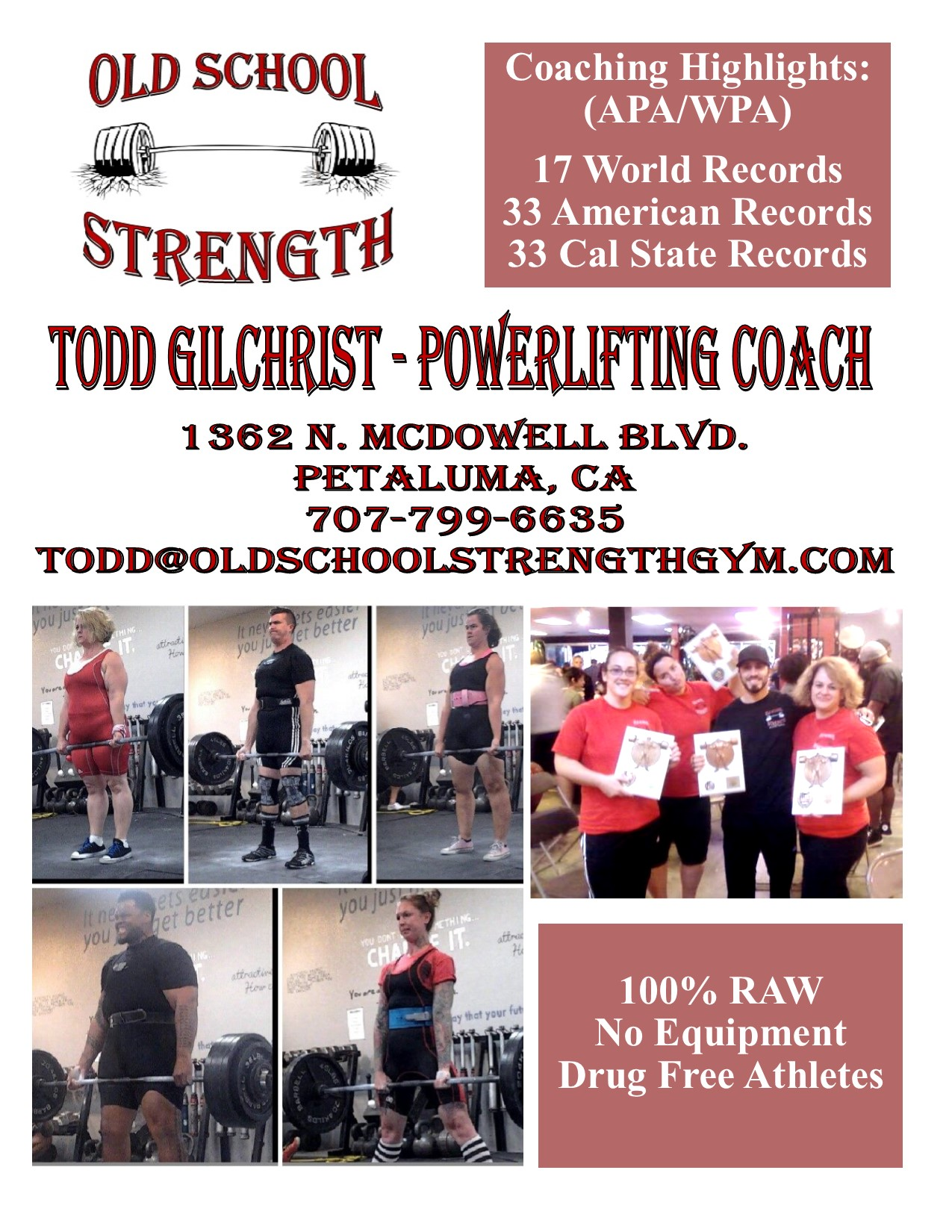 powerlifting coach weightlifting strength certification competitive powerlifter gone performance usa through sports
